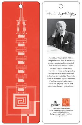 Frank Lloyd Wright Taliesin West Gate Bookmark (Red) Cover Image
