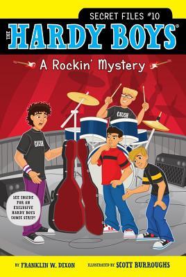 A Rockin' Mystery (Hardy Boys: The Secret Files #10) Cover Image