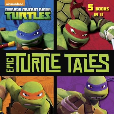 Epic Turtle Tales (Teenage Mutant Ninja Turtles) (Pictureback(R)) Cover Image
