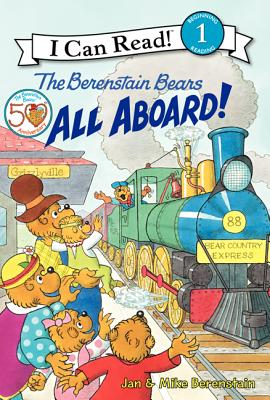 The Berenstain Bears All Aboard! Cover Image