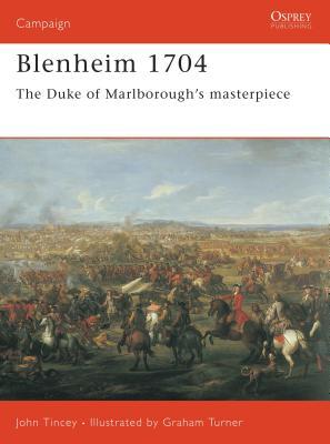 Blenheim 1704: The Duke of Marlborough's masterpiece (Campaign) Cover Image