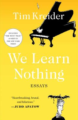 We Learn Nothing Cover
