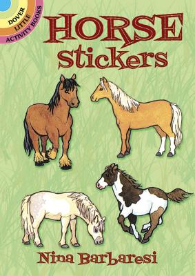 Horse Stickers (Dover Little Activity Books) Cover Image