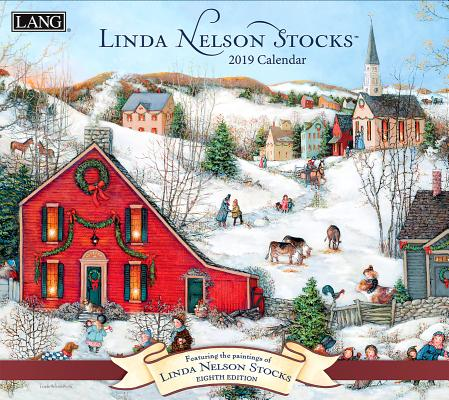 Linda Nelson Stocks 2019 14x12.5 Wall Calendar Cover Image