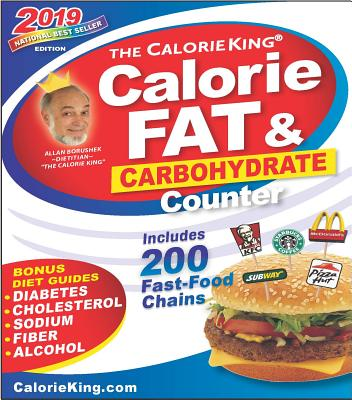 CalorieKing 2019 Calorie, Fat & Carbohydrate Counter Cover Image