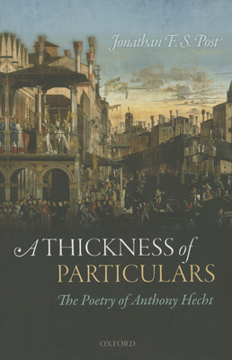 Cover for A Thickness of Particulars