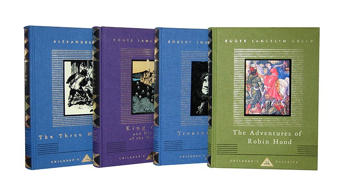 Everyman's Library Adventures 4 Volume Set Cover