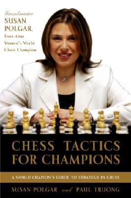 Chess Tactics for Champions Cover