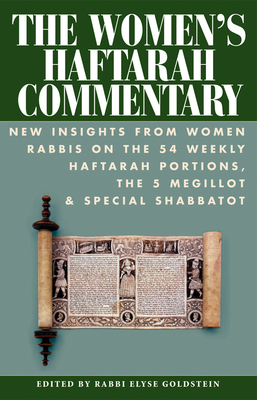 Cover for The Women's Haftarah Commentary