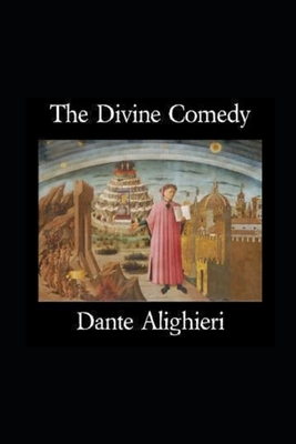 The Divine Comedy by Dante Alighieri illustrated edition Cover Image