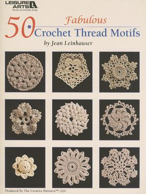 50 Fabulous Crochet Thread Motifs Cover