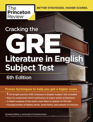 Cracking the GRE Literature in English Subject Test Cover