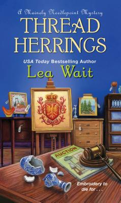 Thread Herrings (A Mainely Needlepoint Mystery #7) Cover Image