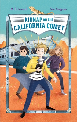Cover for Kidnap on the California Comet