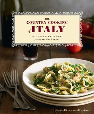 The Country Cooking of Italy Cover