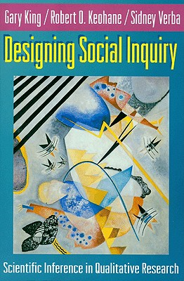 Designing Social Inquiry: Scientific Inference in Qualitative Research Cover Image