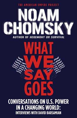 What We Say Goes Cover