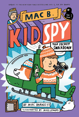 Top Secret Smackdown (Mac B., Kid Spy #3) Cover Image