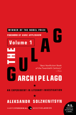 The Gulag Archipelago, 1918-1956 Cover