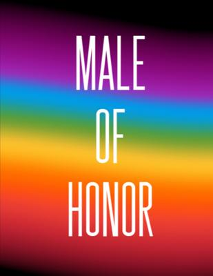 Male Of Honor: Man of Honor Things To Do: Prompted Fill In Organizer for Maid of Honor for Notes, Reminders, Lists, Things to do, Imp Cover Image