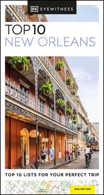 DK Eyewitness Top 10 New Orleans (Pocket Travel Guide) Cover Image