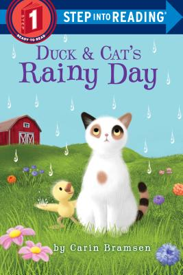 Duck & Cat's Rainy Day (Step into Reading) Cover Image