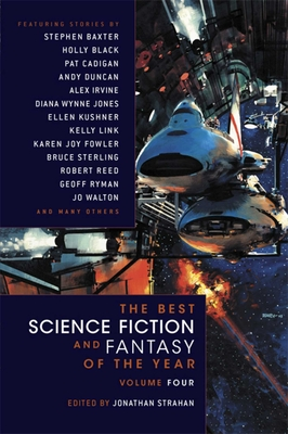 The Best Science Fiction and Fantasy of the Year Volume 4 Cover