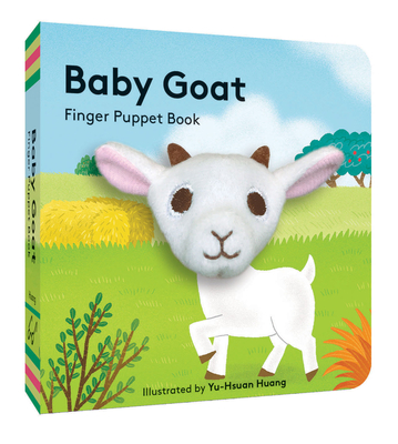 Baby Goat: Finger Puppet Book: (Best Baby Book for Newborns, Board Book with Plush Animal) Cover Image