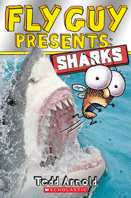 Fly Guy Presents: Sharks (Scholastic Reader, Level 2) Cover Image