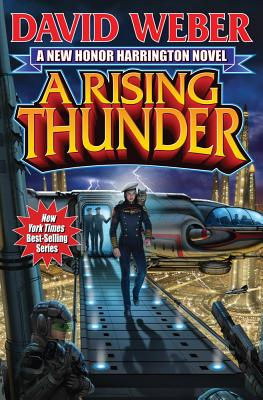A Rising Thunder (Honor Harrington) Cover Image