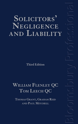 Solicitors' Negligence and Liability: Third Edition Cover Image