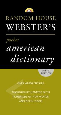 Random House Webster's Pocket American Dictionary Cover