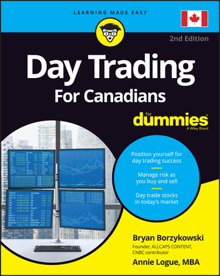 Day Trading for Canadians for Dummies Cover Image