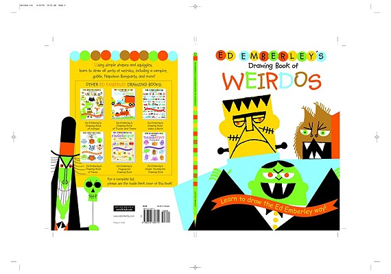 Ed Emberley's Drawing Book of Weirdos Cover Image