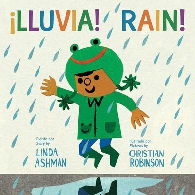 ¡Lluvia!/ Rain! (bilingual board book) Cover Image