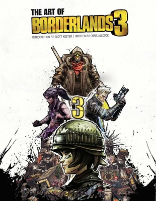 The Art of Borderlands 3 Cover Image