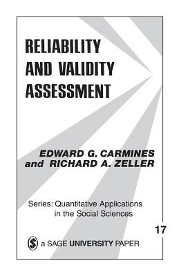 Reliability and Validity Assessment (Quantitative Applications in the Social Sciences #17) Cover Image