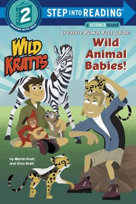 Wild Animal Babies! (Wild Kratts) (Step into Reading) Cover Image
