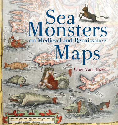 Sea Monsters on Medieval and Renaissance Maps Cover Image