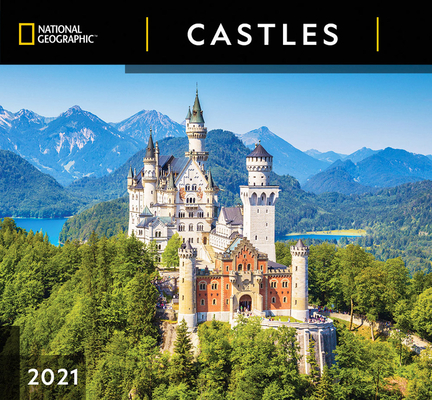 Cal 2021- National Geographic Castles Wall Cover Image