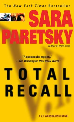 Total Recall: A V. I. Warshawski Novel Cover Image