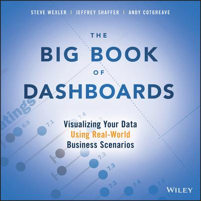The Big Book of Dashboards: Visualizing Your Data Using Real-World Business Scenarios Cover Image