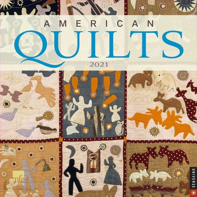 American Quilts 2021 Wall Calendar Cover Image