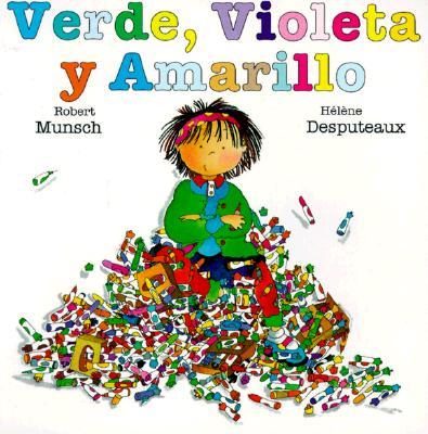 Verde, Violeta Y Amarillo Cover Image