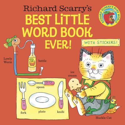 Richard Scarry's Best Little Word Book Ever! (Pictureback(R)) Cover Image