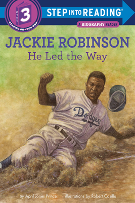 Jackie Robinson: He Led the Way (Step into Reading) Cover Image