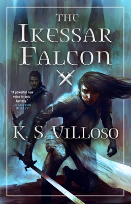 Cover for The Ikessar Falcon (Chronicles of the Wolf Queen #2)