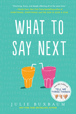 Cover for What to Say Next