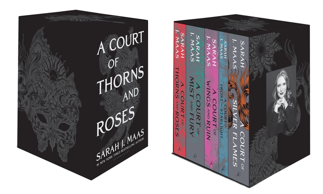 A Court of Thorns and Roses Hardcover Box Set Cover Image