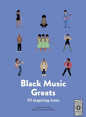 40 Inspiring Icons: Black Music Greats: 40 inspiring icons Cover Image